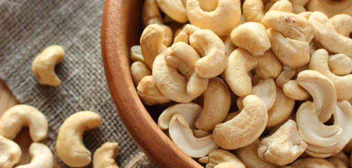 Voici pourquoi il faut manger des noix de cajou tous les jours !